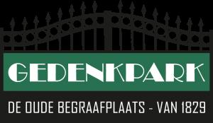 Logo Gedenkpark De Oude Begraafplaats - van 1829